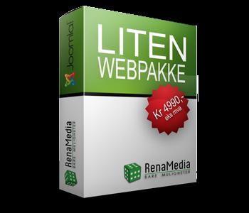 Webpakke - Liten