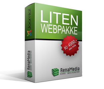 Webpakke medium